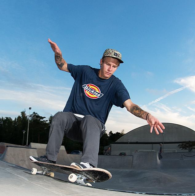 Skate Foto: Calle Fredin