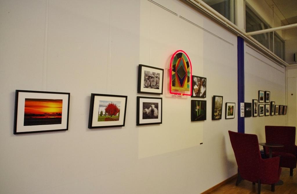 Utställning på biblioteket