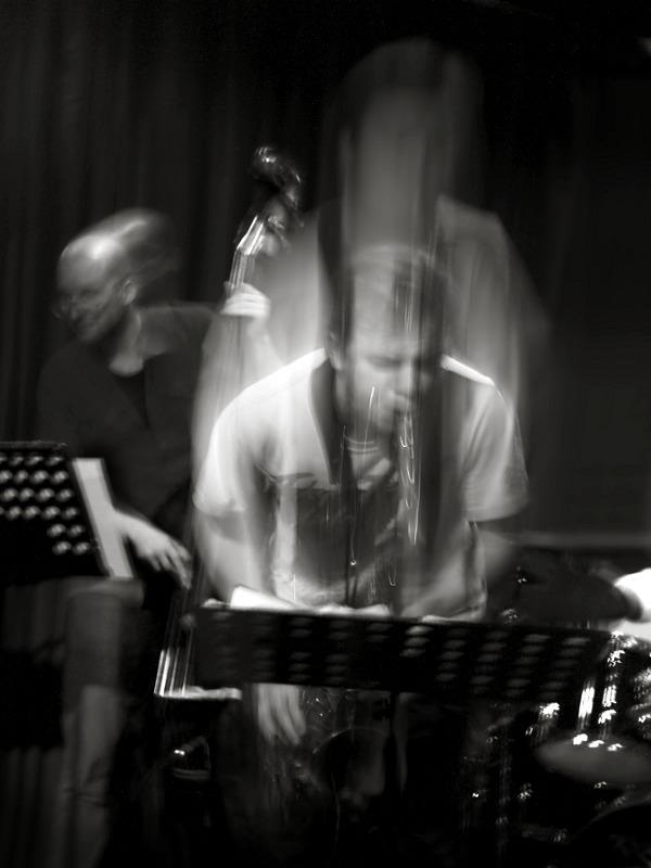 Jazz i rörelse. Foto: Magnus Karlsson