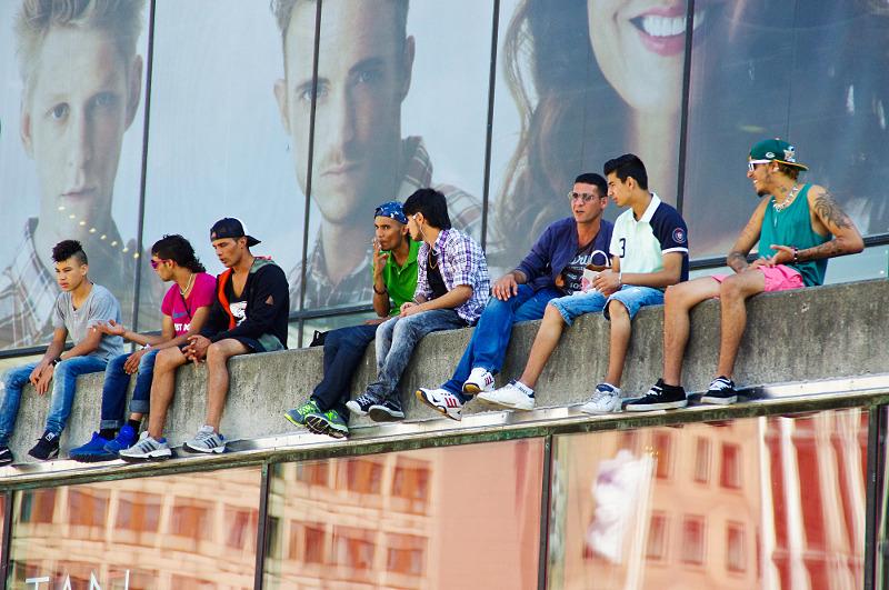 3. Dagens ungdom. Foto: Stina Hallberg