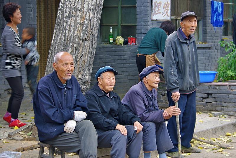 Kinesisk ljugarbänk. Foto: Mikael Hallberg