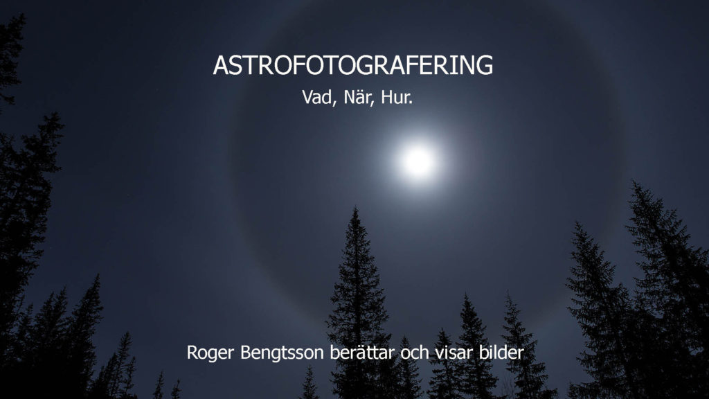 Astrofotografering