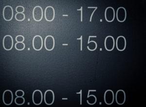 Siffror (1) Foto: Mats Axelsson