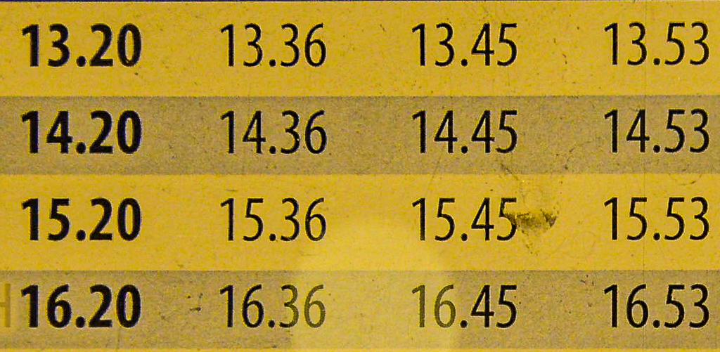 Siffror (3) Foto: Mats Axelsson