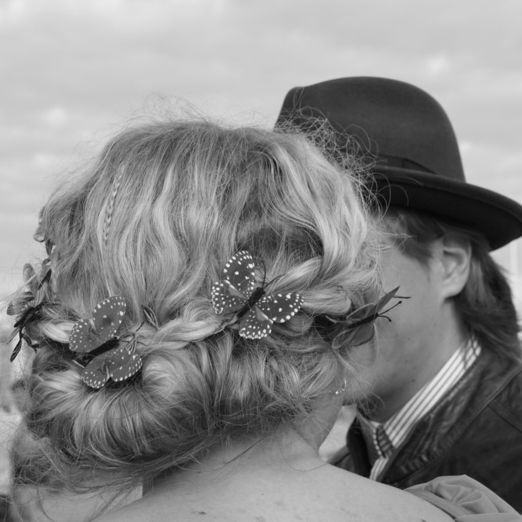 Foto: Gitte Leandersson - Den första kyssen